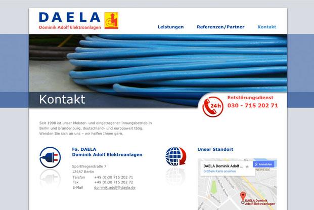 Link zu DAELA Elektroanlagen