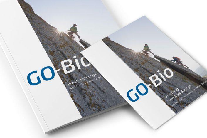 Tagungsbroschüre und Einladung GO-Bio