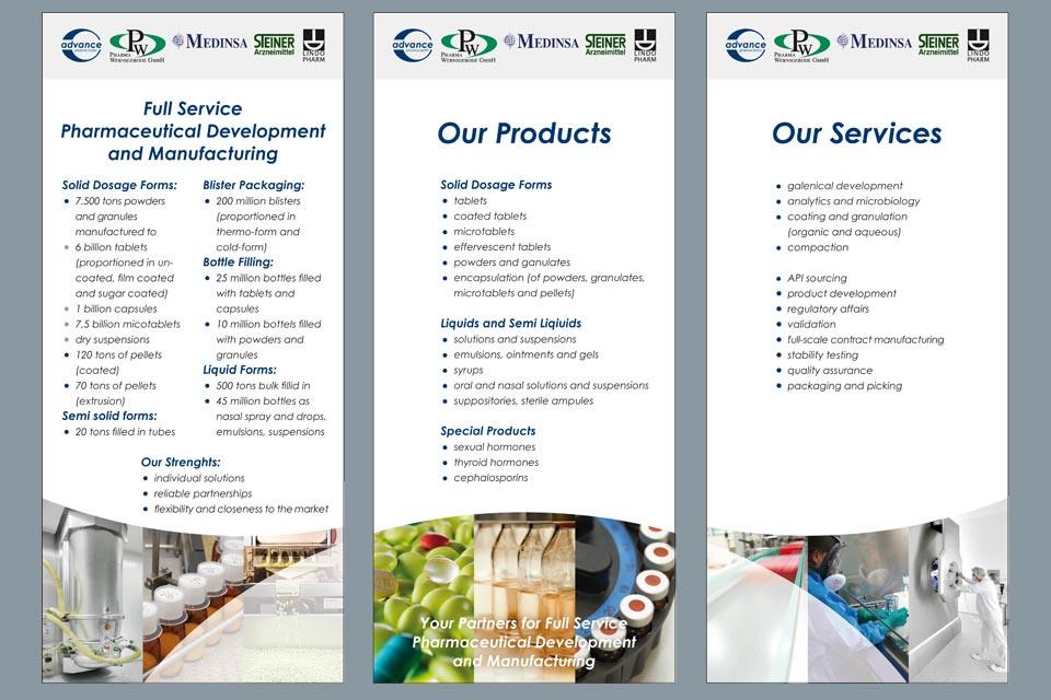 Displays für Pharma Fachmesse