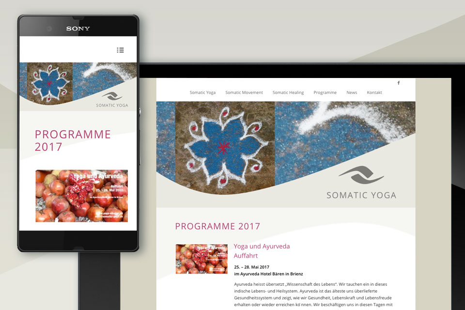 Website Somatic Yoga Pia Fischer