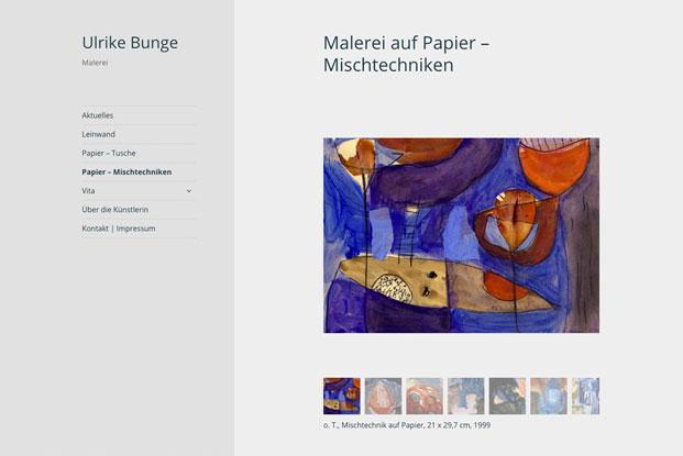 Link zu Ulrike Bunge Malerei