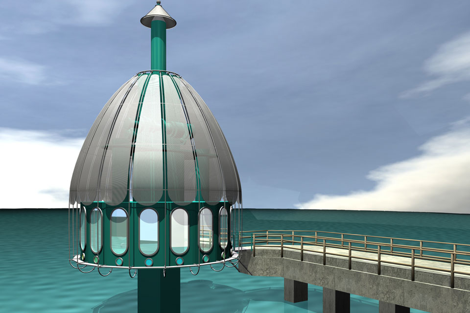 3D-Visualisierung Tauchglocke