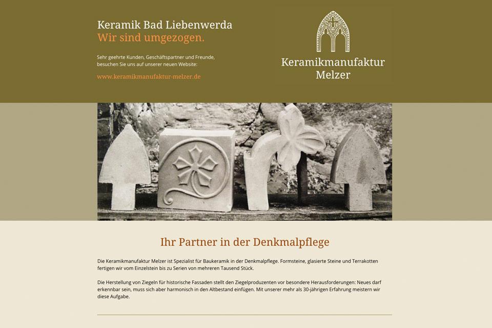 Landing Page Keramik Bad Liebenwerda