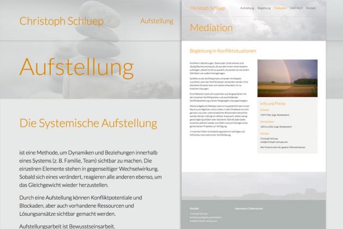 Website Christoph Schluep