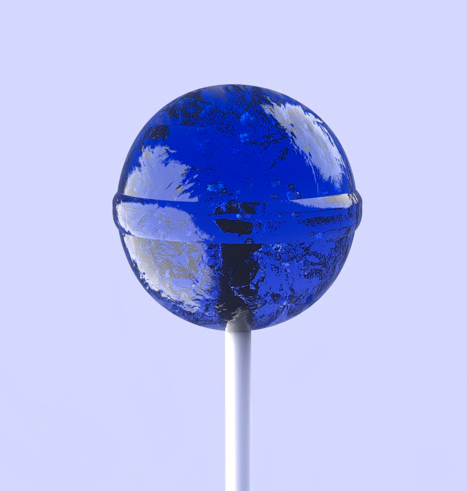 Lolly blau