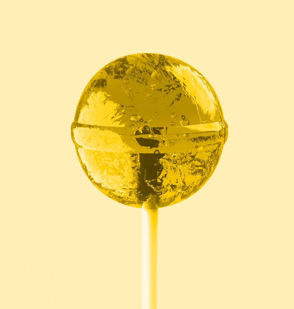 Lolly gelb
